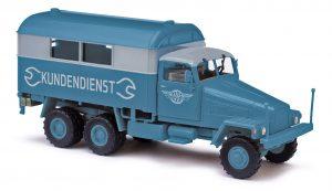 BUSCH 51573 IFA G5´56 Kofferwagen, Kundendienst EGW