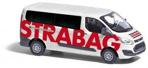 BUSCH 52428 Ford Transit Custom Bus, Strabag