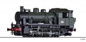 TILLIG 72014 Dampflokomotive Reihe 040-TX der SNCF, Ep. III