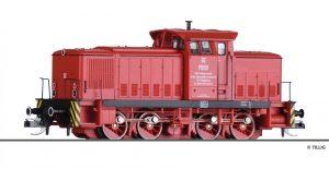 TILLIG 96325 Diesellokomotive V 60 D, Werklok 02 der PBSV-Verkehrs-GmbH, Ep. V