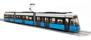 Die erste Formneuheit 2021 von HALLING Modelle! – Flexity Göteborg