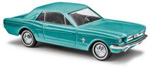 BUSCH 47562 Ford Mustang Coupé »Metallica«Türkisgrün
