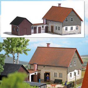 BUSCH 1909 Wohnhaus mit Anbau